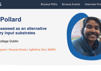 Checkout Priya's Interview with  DiscoverPhDs